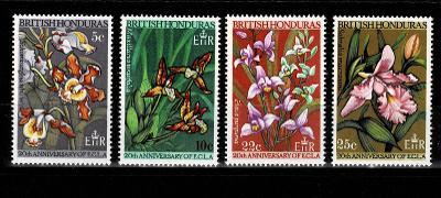Britský Honduras - Flora Mi  205/8** - Nr.138