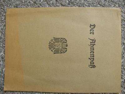 Nevyplněné dokumenty + NSDAP, cena za vše!