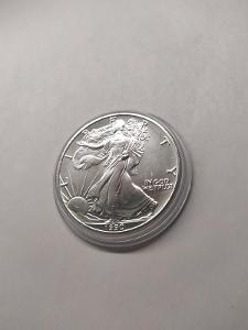 Investiční stříbrná mince American Eagle 1oz 1990