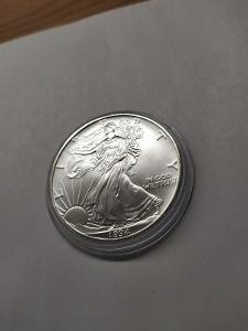 Investiční stříbrná mince American Eagle 1oz 1994