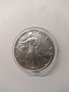 Investiční stříbrná mince American Eagle 1oz 1995