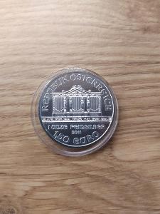 Investiční stříbrná mince Wiener Philharmoniker 2011 1oz
