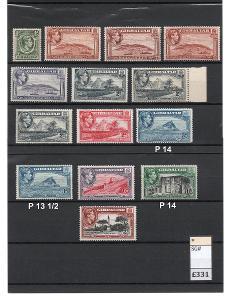 Anglické kolonie - GIBRALTAR 1938 až 51 * -  331 Liber