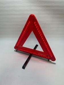 LED bateriový osvícený trojúhelník do auta  záruka!!