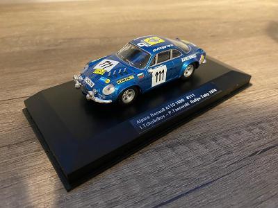 Alpine Renault A110 1600 n. 111 Rallye Tatry 1974! Foxtoys Limited!