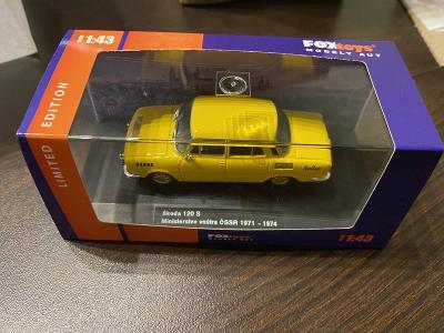 Škoda 120 S Ministerstvo vnútra ČSSR 1971-1974 Foxtoys Limited