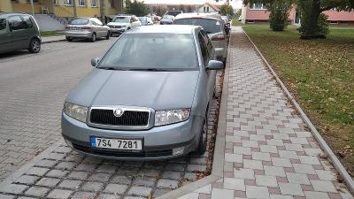 Škoda Fabia 1,9 Tdi, klima, tempomat...