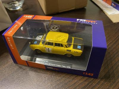 Škoda 120S n. 1 Rallye Tatry 1976! Foxtoys Limited