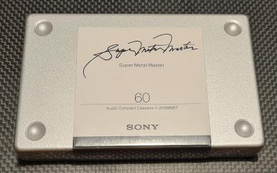 SONY Super Metal Master 60, top kazeta všech dob