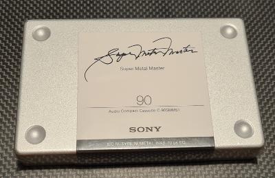 SONY Super Metal Master 90, top kazeta všech dob