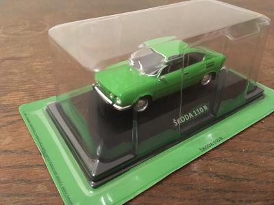 Škoda 110R Coupé DeAgostini 1:43