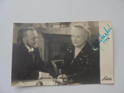 Foto + Autogram-Růžena Nasková