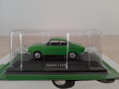 Škoda 110R coupé 1973 DeAgostini, Kaleidoskop (ne Abrex,Kaden)