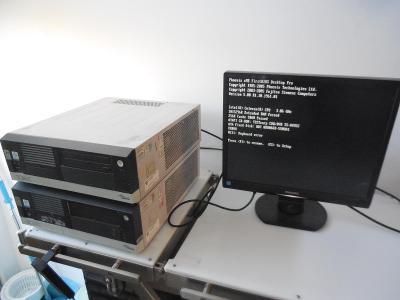 Fujitsu siemens scenic 2x funkční k přeinstalaci  či na repas či díly