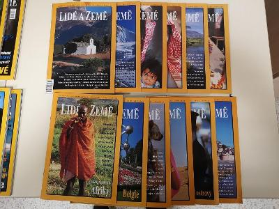 Lidé a země, cestovatelský časopis, ročník 2001