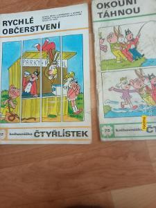 Čtyřlístky 117, 75.  Rok 1984 a 1979.
