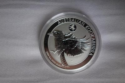 Stříbrná investiční mince 1 Oz Kookaburra (Ledňáček) 2018 PRIVY MARK