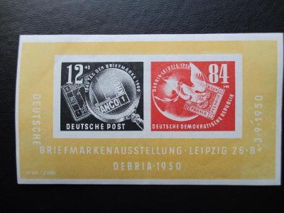 NDR 1950 - ** Mi 271 - 272 - blok 7