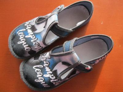 Dětské Barefoot bačkory Ef Champion klasik, bačkůrky, velikost 31