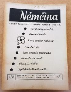 Němčina - jazykový časopis - propaganda - 1942 !!
