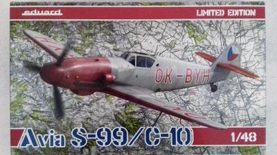 Avia S-99/C-10, 1/48 Eduard