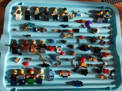 Směs LEGO  figurek a mix příslušenství č.6