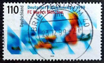 DEUTSCHLAND: MiNr.2074 Bayern München 110pf 1999