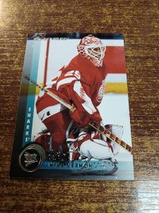 Hokejová kartička - Mike Vernon - Sharks