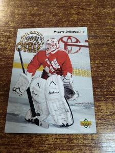 Hokejová kartička - Philippe DeRouville - Canada