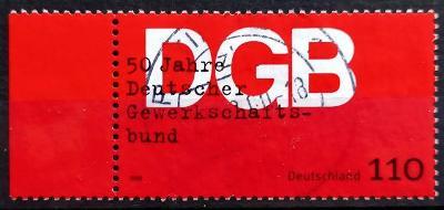 DEUTSCHLAND: MiNr.2083 German Federation of Trade Unions 110pf LK 1999