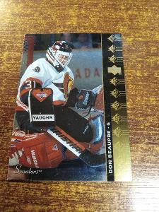 Hokejová kartička - Don Beaupre - Senators