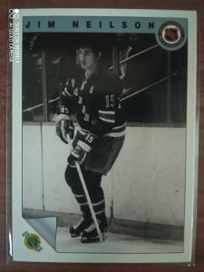 Hokejová karta Jim Neilson, New York Rangers