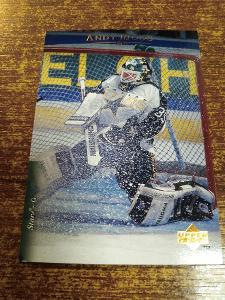 Hokejová kartička - Andy Moog - Stars