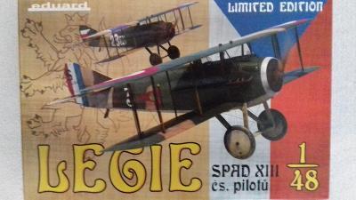 """Spad XIII """"Legie"""", 1/48 Eduard"""