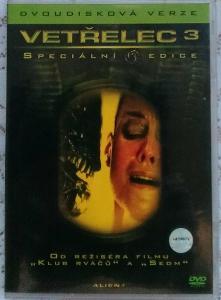 2 DVD - VETŘELEC 3
