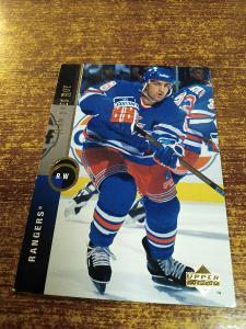 Hokejová kartička - Jean Yves Roy - Rangers