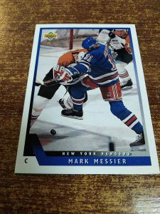 Hokejová kartička - Mark Messier - New York Rangers