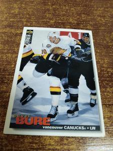 Hokejová kartička - Pavel Bure - Canucks