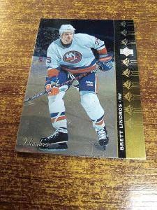 Hokejová kartička - Brett Lindros - Islanders