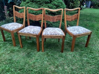 4 židle s  dočalouněním podle vašich představ
