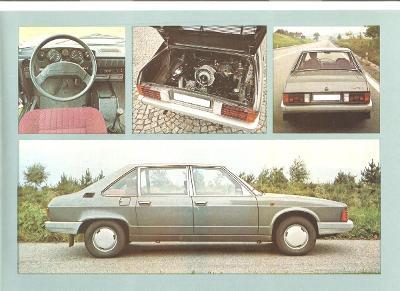 Tatra 613 -3 , prospekt , 4 strany , česky