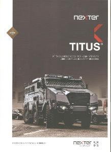 Tatra 815 -7 6x6.1  TITUS , prospekt , 4 strany , anglicky