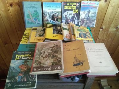 Dobrodružné knihy  - konvolut - Foglar, May, KOD a jiné