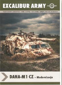 Tatra 815 DANA M1 CZ , prospekt EXCALIBUR ARMY , 6 stran , polsky