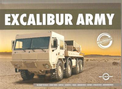 Vozidla Tatra ve firemní nabídce EXCALIBUR ARMY ,  40 stran , anglicky