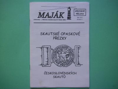 Skautské opaskové přezky čsl. skautů (příručka)