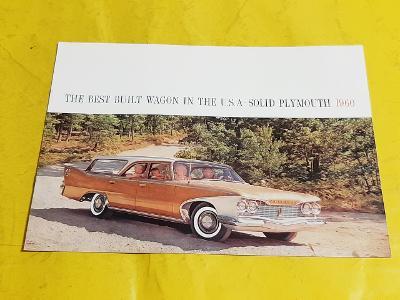 --- Plymouth Wagon 1960 ------------------------------------------ USA