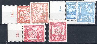 Sov. Zóna /Sovětská zóna  - Mi. 26 - 8, a + b, Dětem, obě barv/2686/12