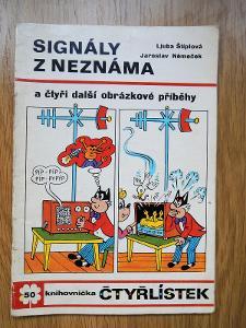 Čtyřlístek č.50 Signály z neznáma , Čtyřlístky