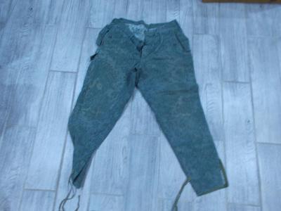 Vojenské jehličkové  kalhoty vel.2A- od 1kč